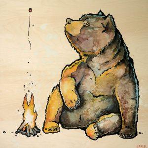 bear campfire
