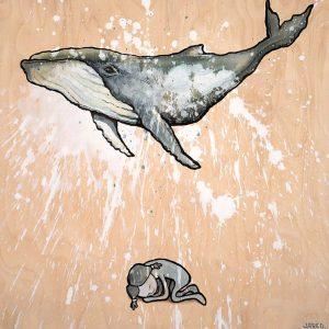 blue whale dream girl