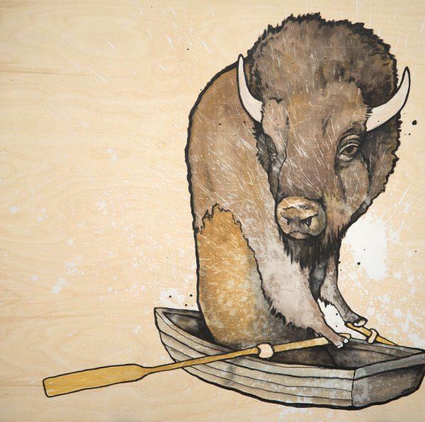 buffalo row boat