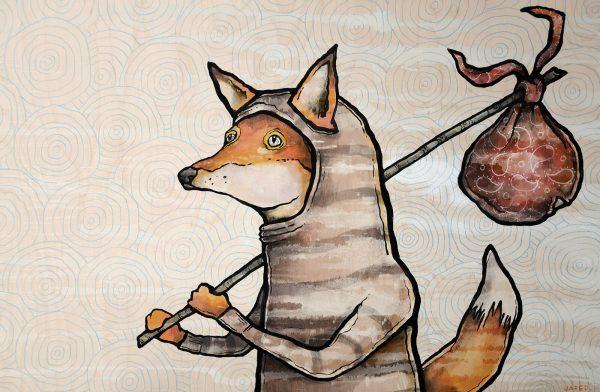 hobo fox journey adventure